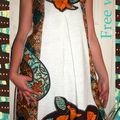 «Free wax» collector n°1105106028 Robe d'été taille36/38/ 40 99euros