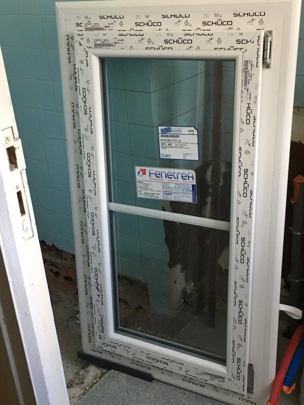 2e ét Fenêtre PVC en attente