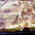 Gratin de lasagnes blettes-ricotta-parmesan