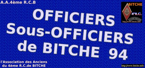 OFFICIERS sous OFFICIERS de 1994 a