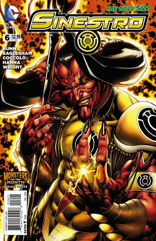 new 52 sinestro 06 monster variant