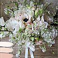 Bouquet de mariée fleurs des champs