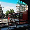Londres , bus à étage