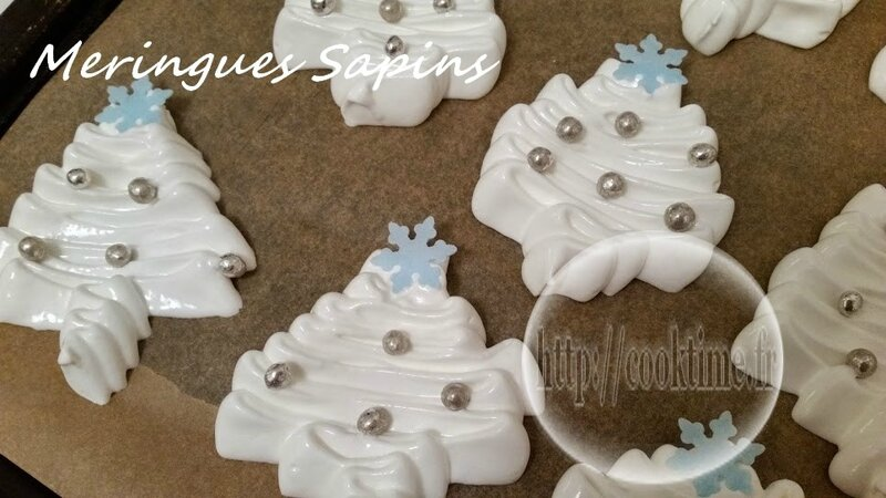 meringues sapins thermomix 2