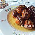 Nèfles farcies aux noix marka hlouwa mouz mahchi b zawz