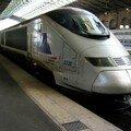TGV Transmanche SNCF, circulant uniquement sur le réseau nationa