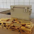 Vender un lingote de oro al banco de francia