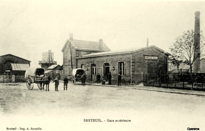 breteuil gare