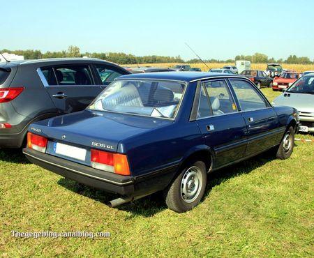Peugeot 505 GL berline (30 ème Bourse d'échanges de Lipsheim) 02