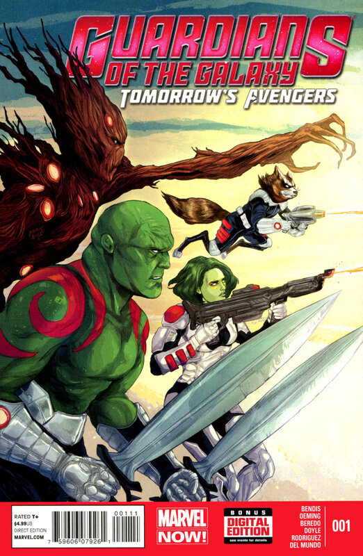 guardians of the galaxy 2013 tomorrow's avengers 01