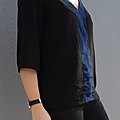 Histoire de coudre la blouse coquelicot