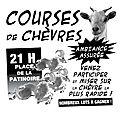 Course de chèvre le vendredi 22 juillet 2016 à 21 h