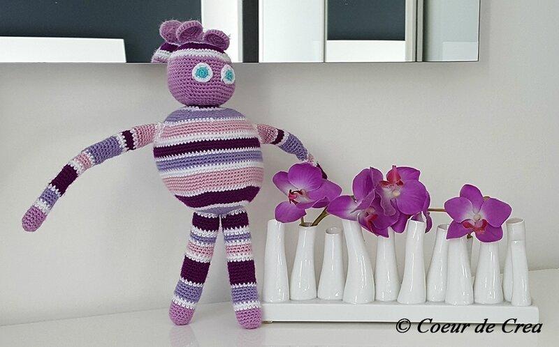 Raillou - Peluche au crochet
