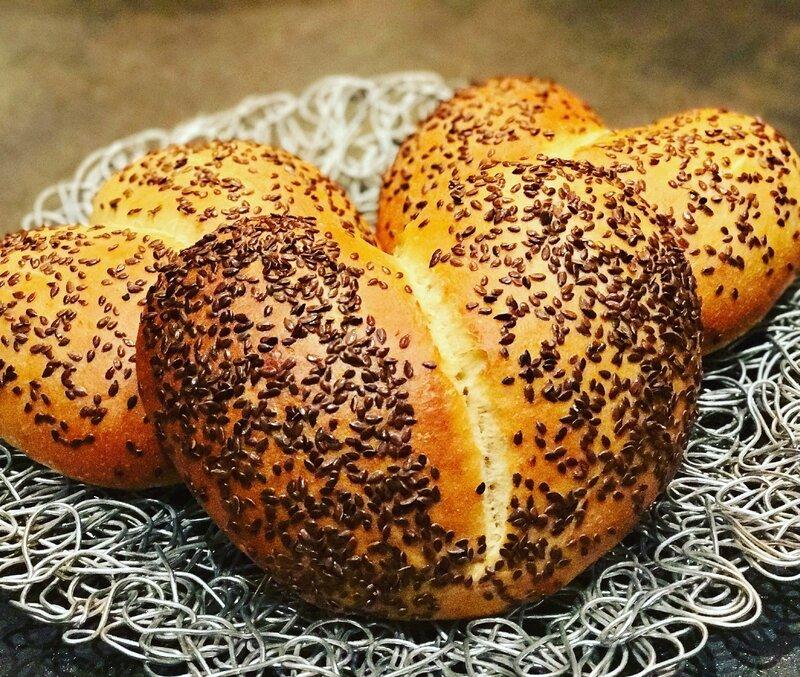 Les Khobz Dar de la St Valentin (pains orientaux)