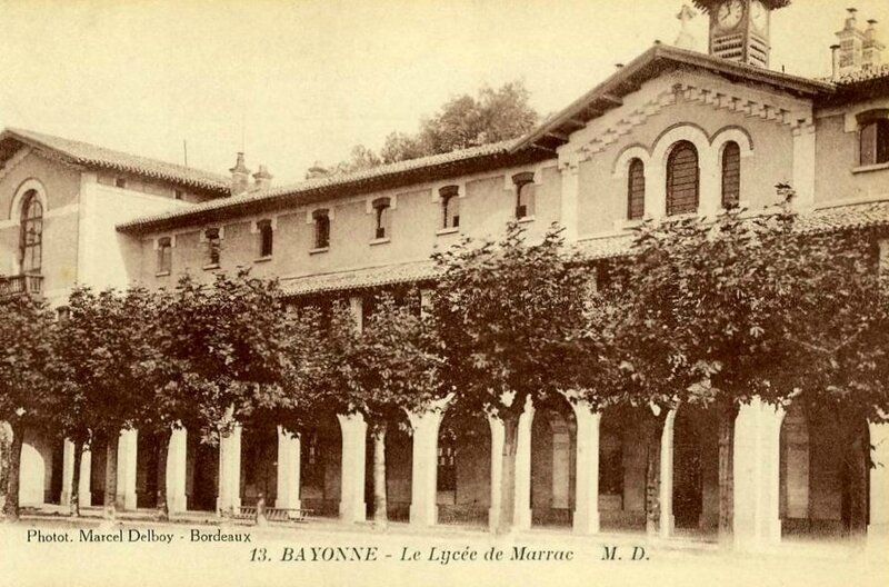Bayonne lycée Marracq hôp temp n° 20