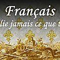Sacr tv- français n'oublie jamais ce que tu es !