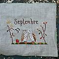The snowflowerdiaries - septembre