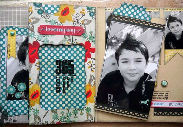 mini album Chronique scraplift Daude 17