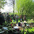Une cinquantaine de troc'eurs au troc-jardin de la ferté-fresnel (61)