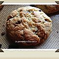 Cookies aux pepites de chocolat
