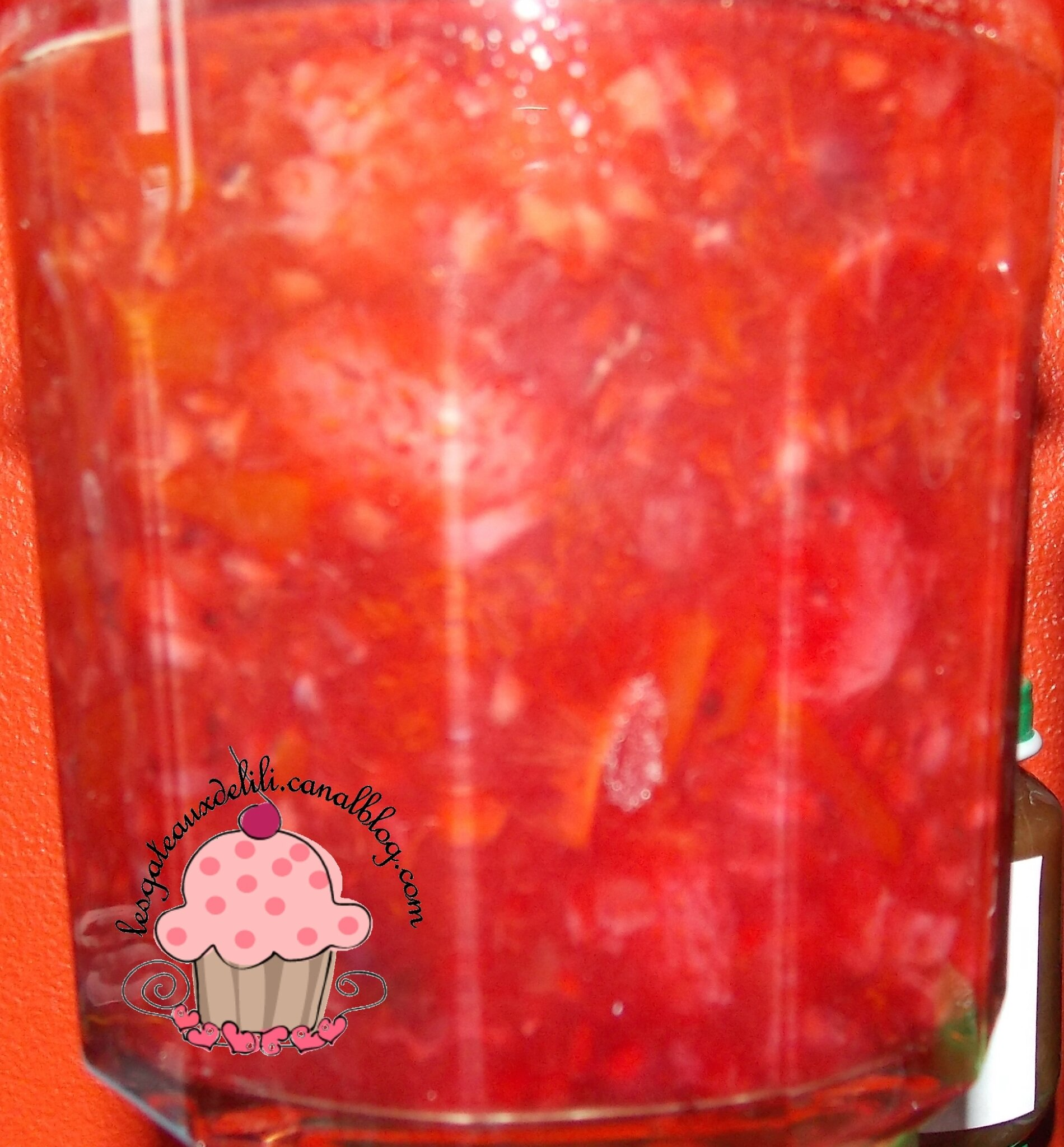 confiture abricot fruits rouges