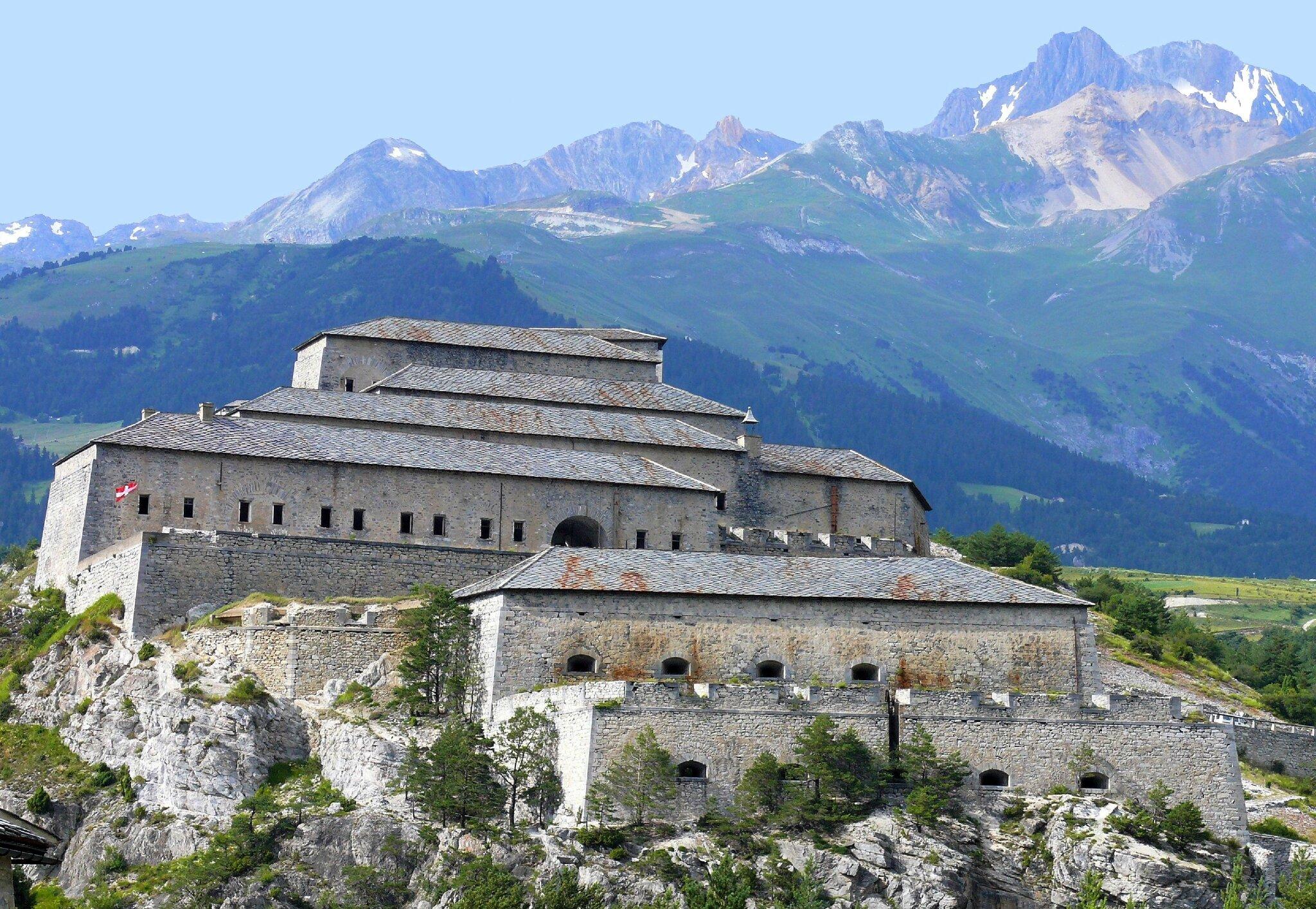 Les forts de l'Esseillon, en Haute Maurienne