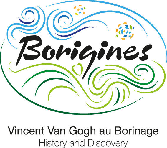 Borigines Logo and Strapline RVB