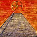 La pyramide de lumière