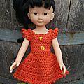Zoé et sa nouvelle robe