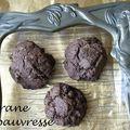 Cookies post noël chocolat - coco