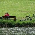 Petits instants entre bicyclettes