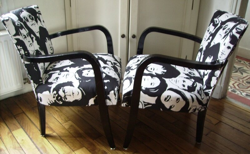 Fauteuils pop/rock