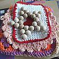 Maniques + 1 lingette au crochet