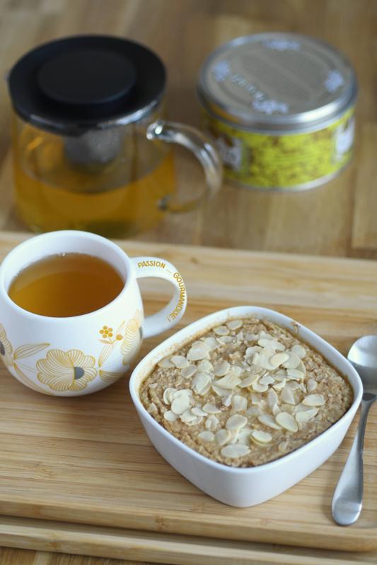 Porridge à l'amande au four_1
