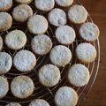 Biscuits fourrés au citron et à l'abricot - biscotti farciti al limone e albicocca