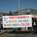 Rennes 8 avril 2010 : rassemblement pas de bébés à la consigne