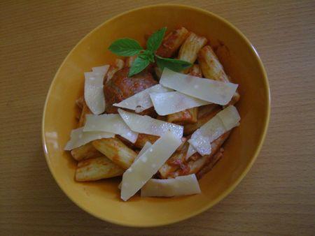 boulette et ses pâtes