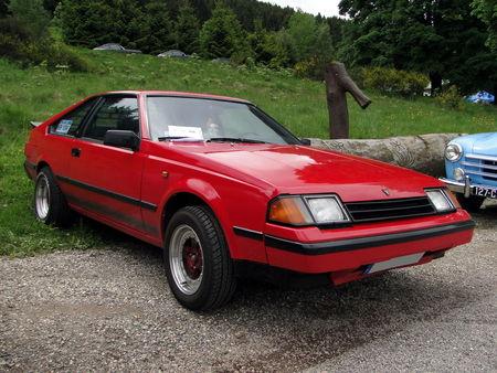 TOYOTA Celica TA60 Liftback generation 3 1981 1985 Exposition de vehicules sportifs du Club Ravage HOHBUHL 2010 1
