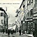 La rue de la Poyat