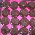 Bouchées aériennes au chocolat