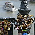 Le pont des arts paris 6°