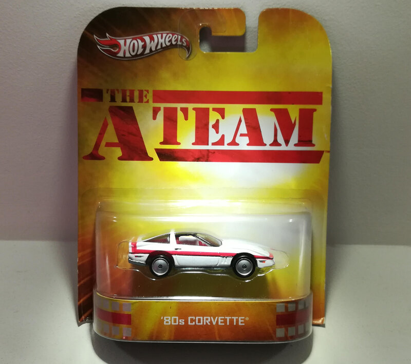 Chevrolet Corvette 80s (A team) (Hotwheels)