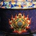 Détail. Boite à offrandes. Dynastie des Nguyên (1802-1945). Emaux de Huê. H. 33 cm. Musée National d'Histoire du Vietnam, Hanoi. Photos Philippe Truong