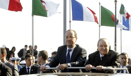 Hollande Bouteflika