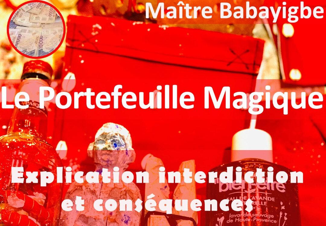 Richesse du portefeuille magique