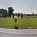 Rond-point à zywiec (pologne)