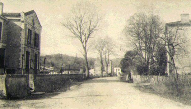 Rue ancienne Mairie (sur gauche)