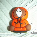 kenny south park en fimo