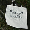 tote bag lavieestbelle point de croix Autour d Elsa - Copie small