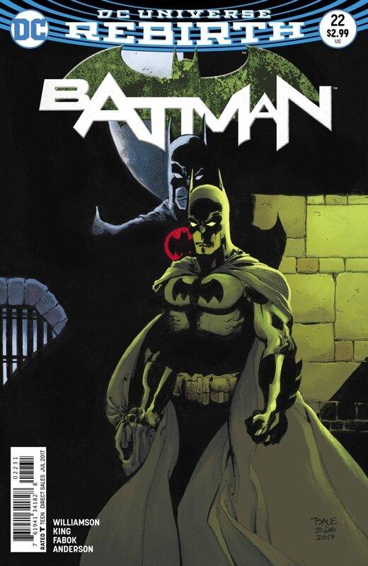rebirth batman 22 variant